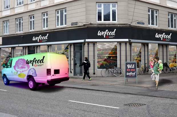 Le supermarché Wefood permet de lutter contre le gaspillage alimentaire au Danemark.