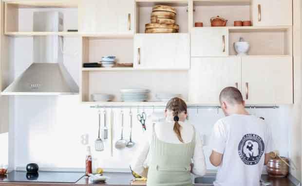 La cuisine est un espace de partage important dans notre habitat.