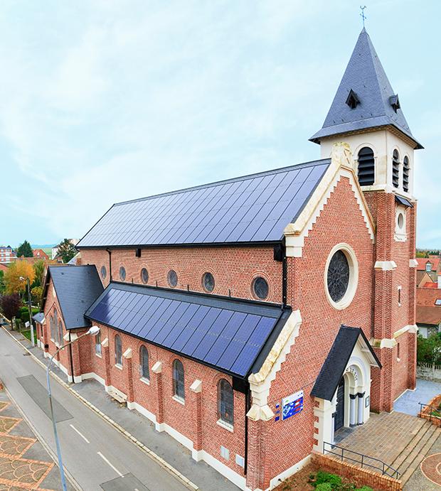 eglise economie energie panneaux photovoltaique
