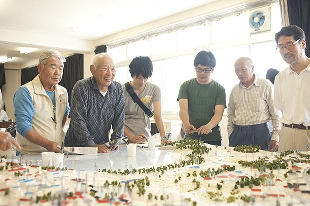 projet association habitant catastrophe japon