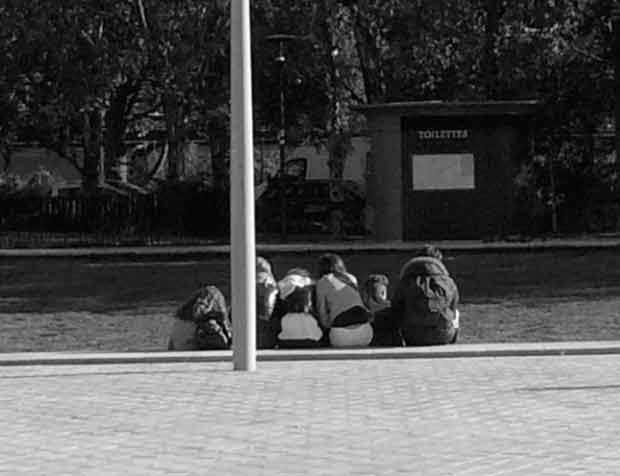 Les jeunes ont du mal à s'imposer dans l'espace public.