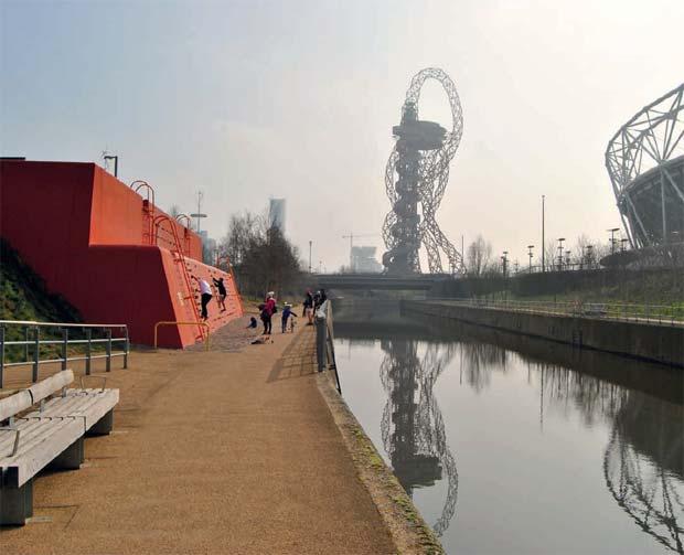 Un parc écologique a été créé pendant les Jeux olympiques de Londres.