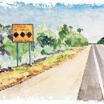 illustration de route