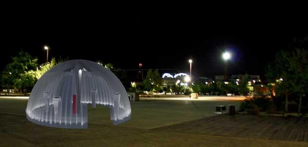 Des espaces mobiles permettraient de créer des zones de rencontres en ville la nuit.