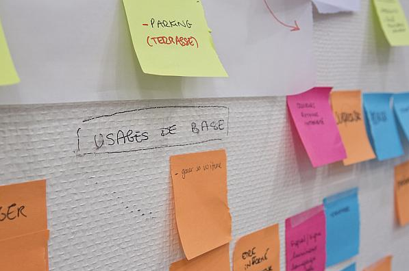 outil creative post it approche participative
