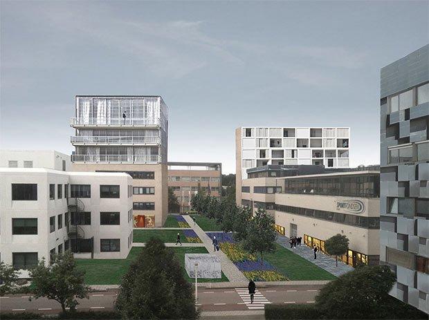 Perspective des nouveaux parcs, nouveaux logements ou bureaux