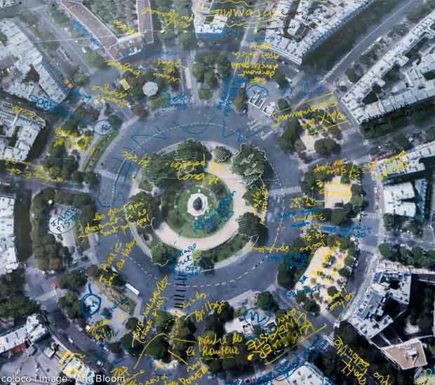 Coloco invite les Parisiens à participer à la création et la plantation de nouveaux jardins et à la fabrication des différents mobiliers.
