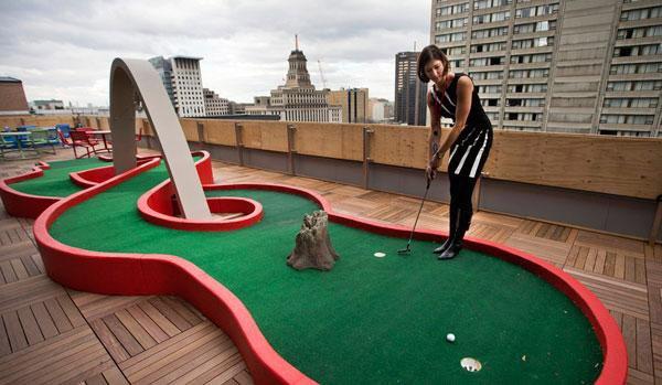Faire du sport insolite sur les toits de paris