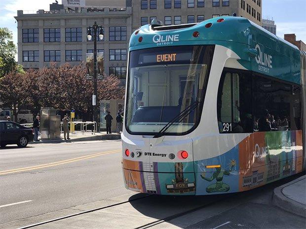 Photo tramway de detroit