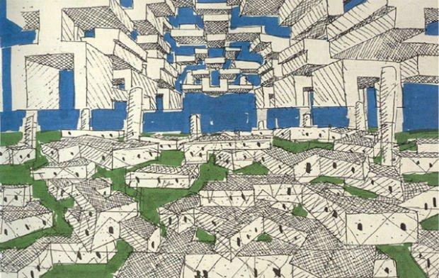 Yona Friedman et sa « ville spatiale »