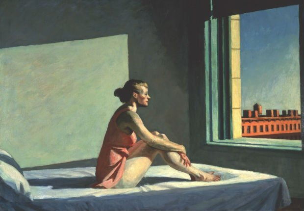 """Morning Sun"" par Edward Hopper, 1952"