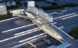 Un pont habitable à Saint Denis