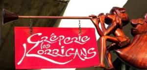 Le nom d'une enseigne de crêperie située au havre