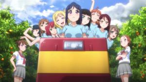 Monorail & Mandarines - Extrait de Love Live! Sunshine!!