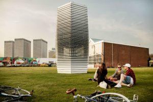 La Smog Free Tower à Rotterdam
