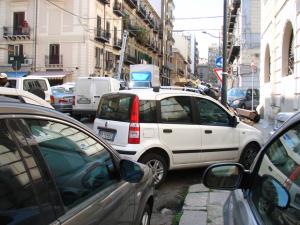 embouteillage en centre-ville