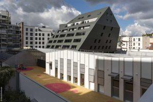 Creation de logements au-dessus d'un centre-bus de la RATP