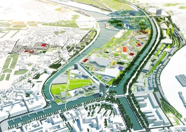 illustration du projet de l'agence MVRDV