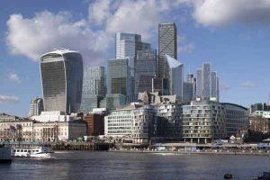 Le quartier d'affaires de la City à Londres