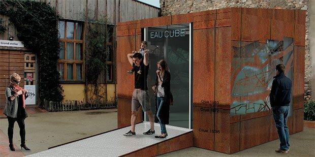 illustration espace ludique cube