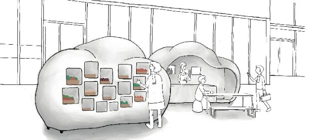 Un dessin pour favoriser l'accessibilité au consommer local