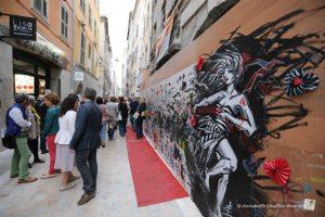 La rue des arts à Toulon