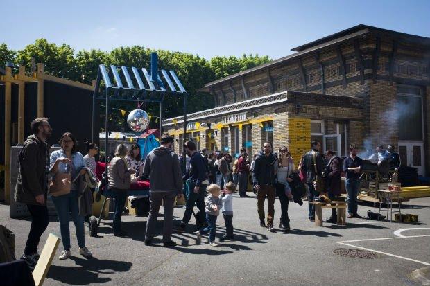 Les Grands Voisins, projet d'occupation temporaire à Paris