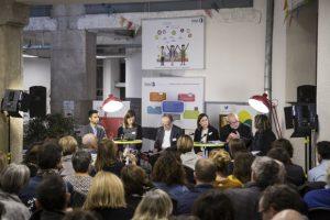 Le Centsept à Lyon, lors d'une conférence organisée avec l'Observatoire de la Ville