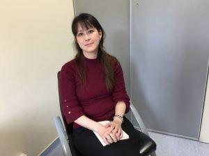 Olivia Goto-Greget reçoit des patients atteints du syndrome de Paris