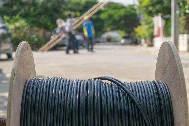 L'installation de la fibre dans à la campagne est coûteuse