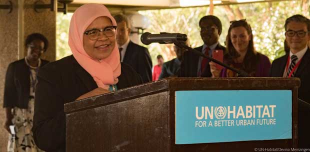La nouvelle dirigeante d'ONU Habitat milite pour des villes inclusives