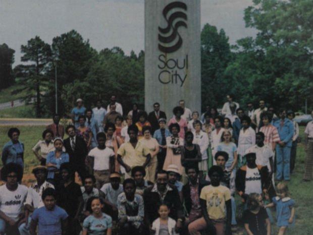 Soul City nos seus primeiros dias