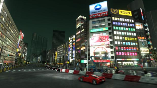 Rapide et furieux comme un pilote à Tokyo (extrait de Project Gotham Racing 4, 2007)