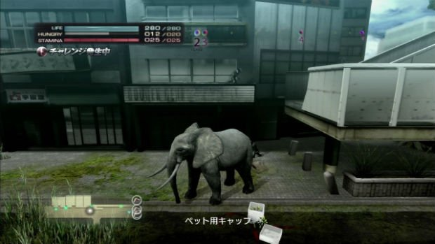 """Tokyo, ville ouverte- Extrait de """"Tokyo Jungle"""" (2013, sur Ps3), que nous évoquions dans ces colonnes dans notre Top 5 des villes animalières dans la culture populaire"""