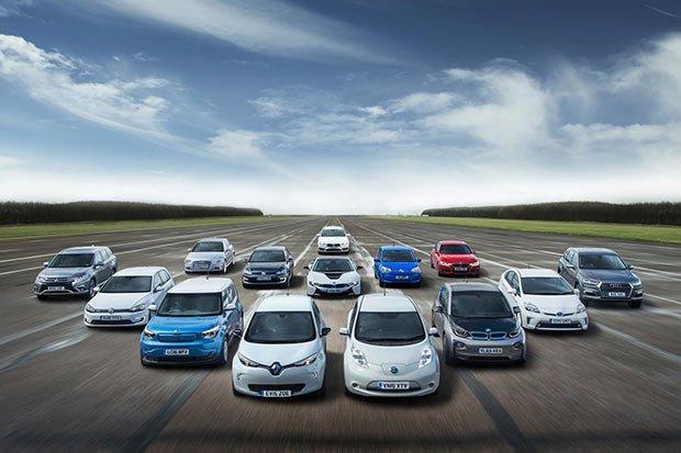 visuel de vehicules electriques
