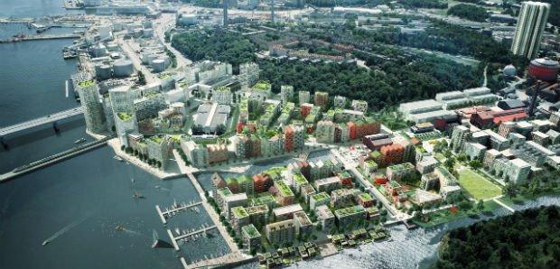 Stockholm Royal Seaport sera un écoquartier ambitieux hérité des savoir-faire suédois