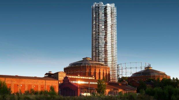Un patrimoine industriel remarquable, réhabilité, qui accueillera de nouvelles fonctions à destination des futurs habitants