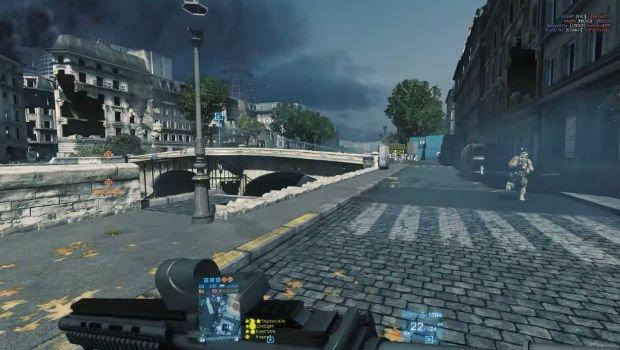 Paris (encore) sous les bombes