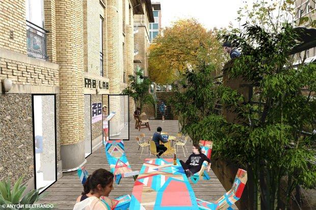 Des cours anglaises qui enrichiront le projet avec des espaces dédiés à l'accueil d'activités