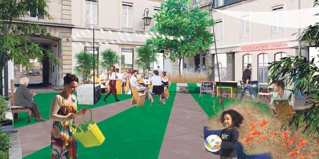 Demain, l'ancien hôpital Saint-Vincent de Paul deviendra un quartier mixte avec des commerces, des équipements culturels, mais aussi une école et une crèche.