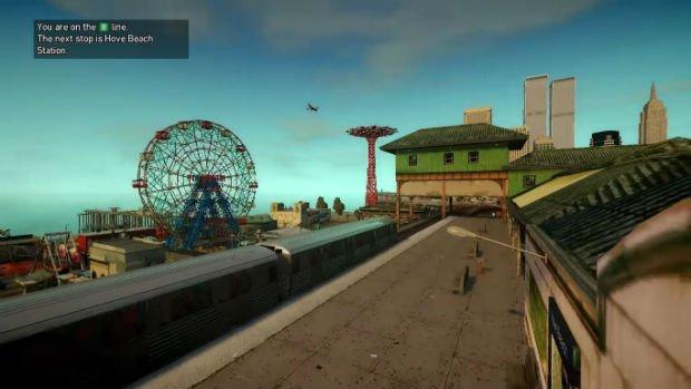 Le soleil brille sur Hove Beach (GTA IV)