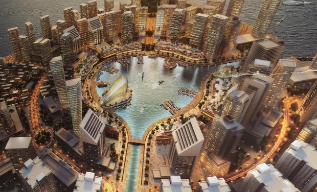 L'île de Eko Atlantic, une vision moderne et exubérante pour la ville de Lagos