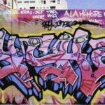 Graffiti du street-artiste Psychoze dans les années 90
