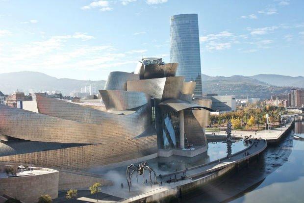 Le musée Guggenheim de Bilbao par Frank Gehry