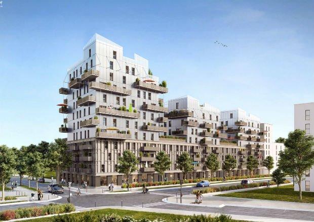 Développé par Bouygues Immobilier, projet à Strasbourg d'un immeuble 100% bois bas carbone, nommé Sensations