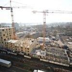 Le chantier Sensations à Strasbourg dont le plus haut qui culmine à 38 mètre