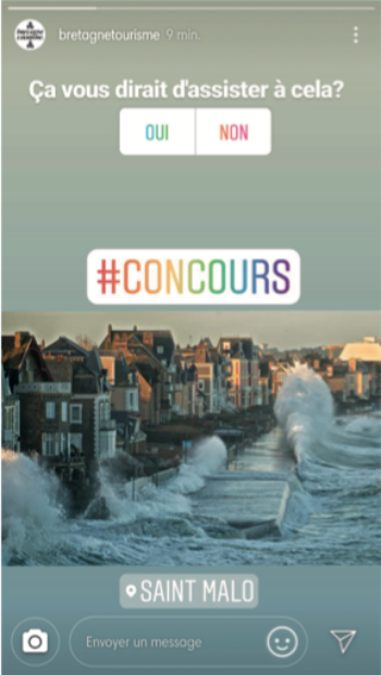 Bretagne propose aux internautes un concours permettant d'expérimenter la tempête de plein fouet.