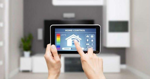Illustration de l'application pour un logement connecté