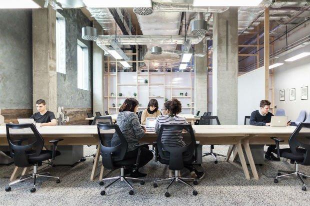 Espace de travail partagé de The Collective Old Oak à Londres