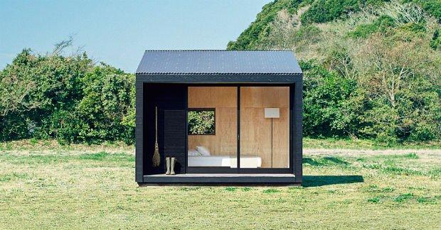 La Muji Hut de la marque japonaise Muji